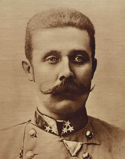 Photo of Archduke Franz Ferdinand.
