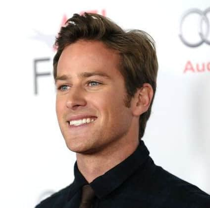 Photo of Armie Hammer hair.