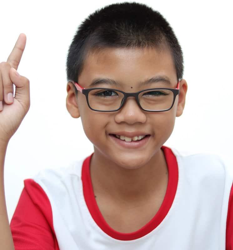 Buzz Cut para chico asiático