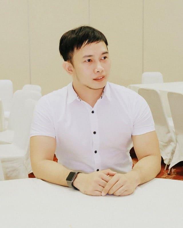 short caesar haircuts for Asian men