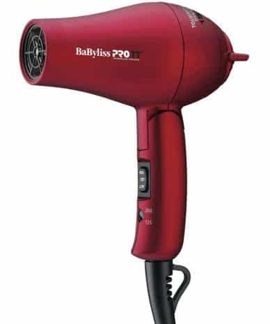 Photo of BaBylissPRO Tourmaline Titanium Travel Dryer.