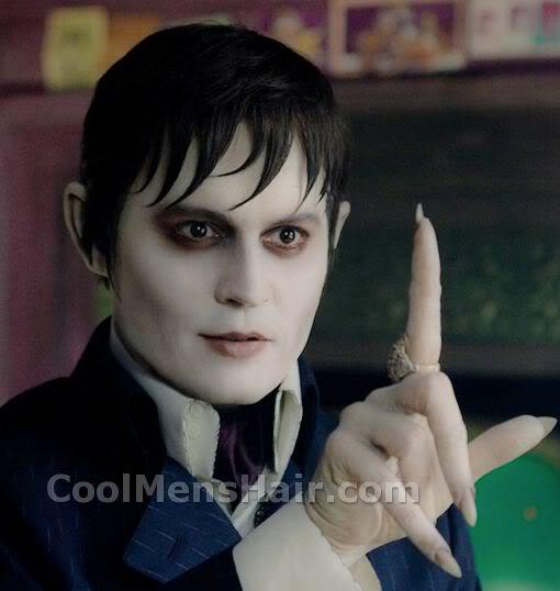 Photo of Barnabas Collins hairstyle.