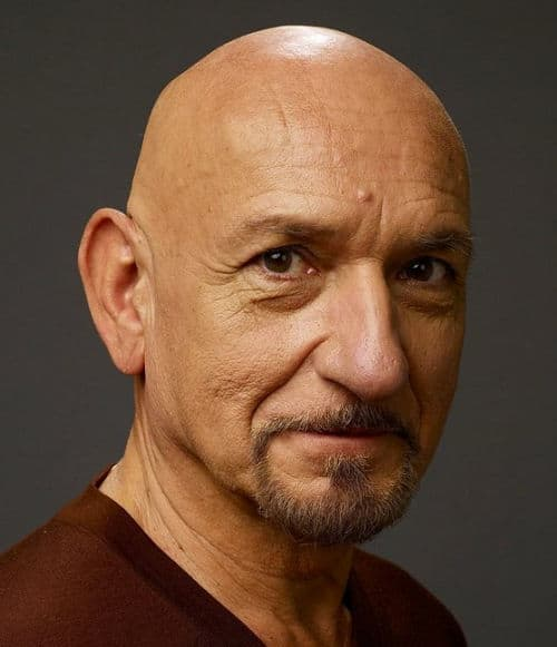 Photo of Ben Kingsley.