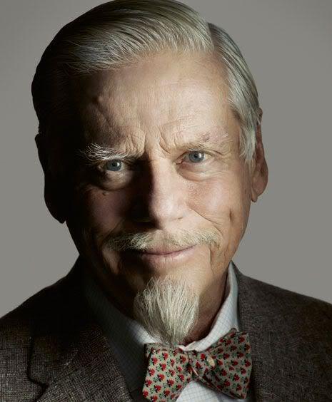 Photo of Bertram Cooper hairstyle.