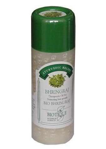 Image of Biotique Bhringraj therapeutic oil.
