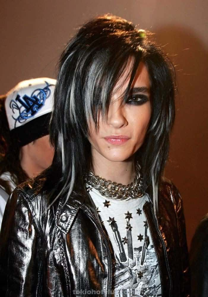 Bill Kaulitz Hairstyles Cool Mens Hair