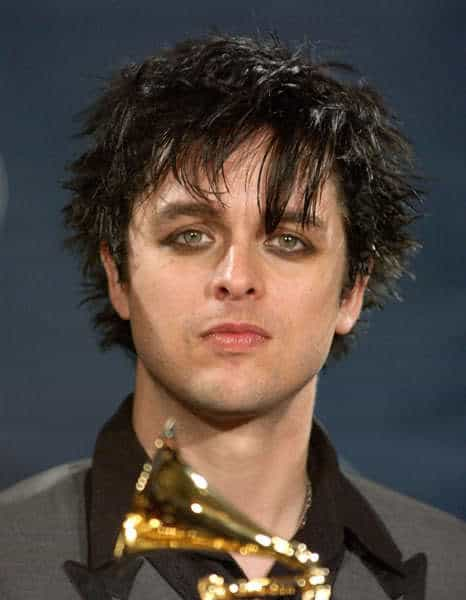 Billie Joe Armstrong hairstyle