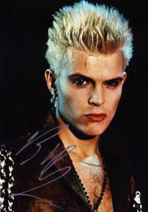 Billy Idol spiky hairstyle