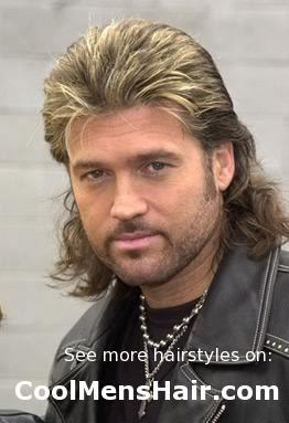 Billy's mullet photo