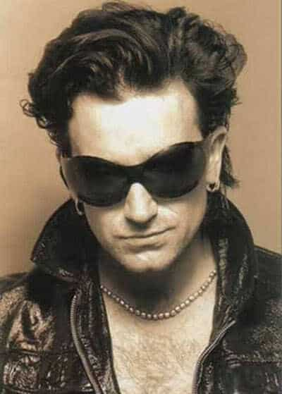 Picture of Bono hairstyle