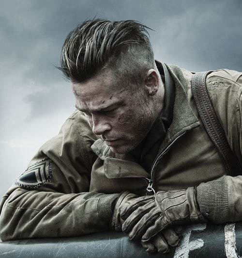 brad pitt fury hair -#main