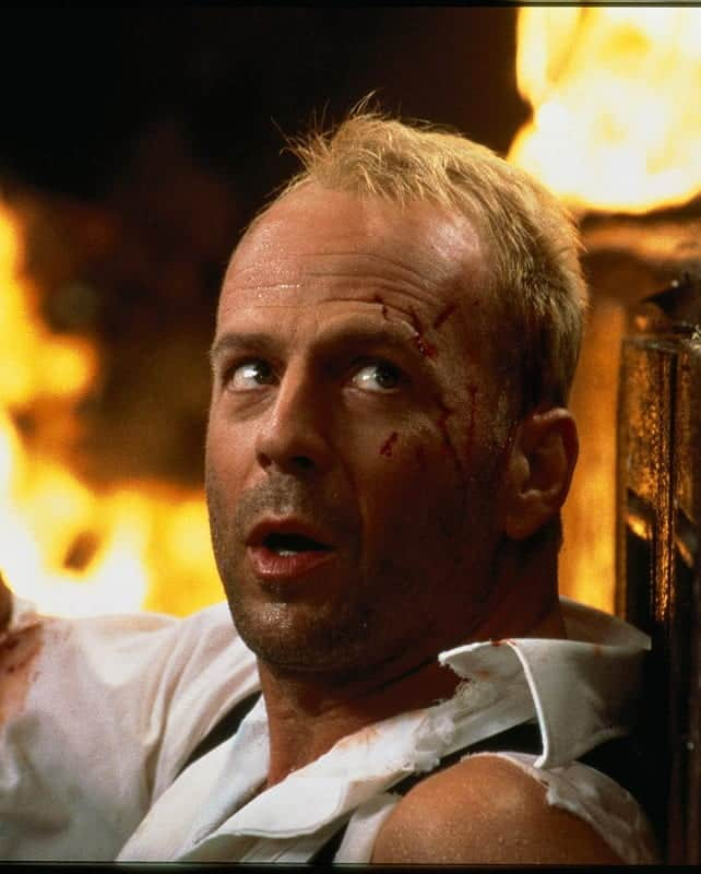 Bruce Willis's hairstyle