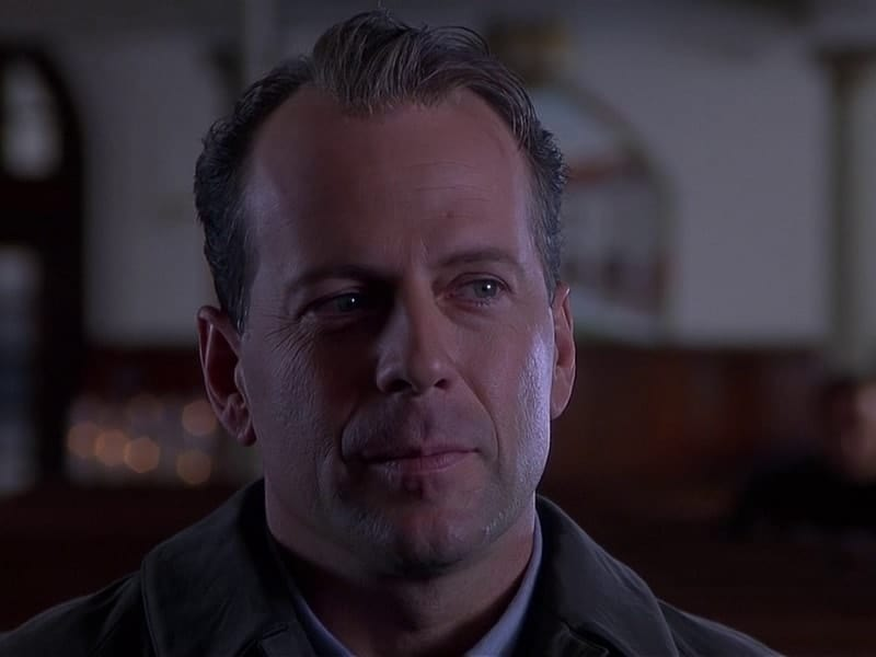 Bruce Willis with hair