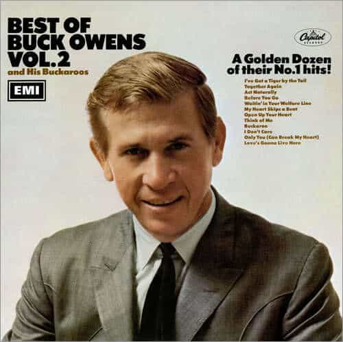 Picture of Buck Owens short hairstyle.
