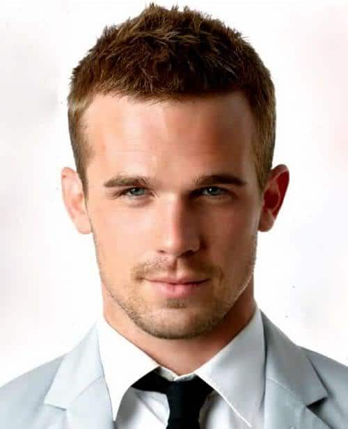 Photo of Cam Gigandet hairstyle.