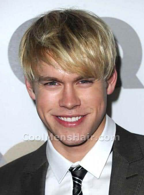 Image of Chord Overstreet hairstyle.