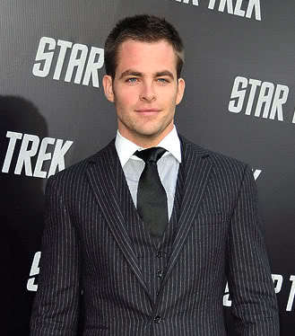 Chris Pine short hair