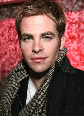 Chris Pine short layer haircut