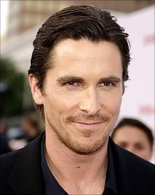 Christian Bale hairstyle