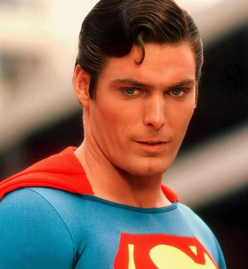 Photo of Christopher Reeve hairstyle.