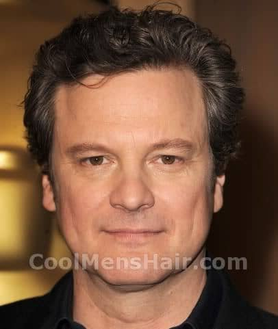 Picture of Colin Firth hairstyle.