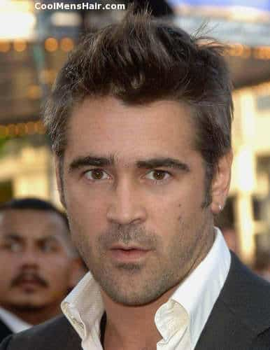 Image of Colin Farrell slike hairstyle.