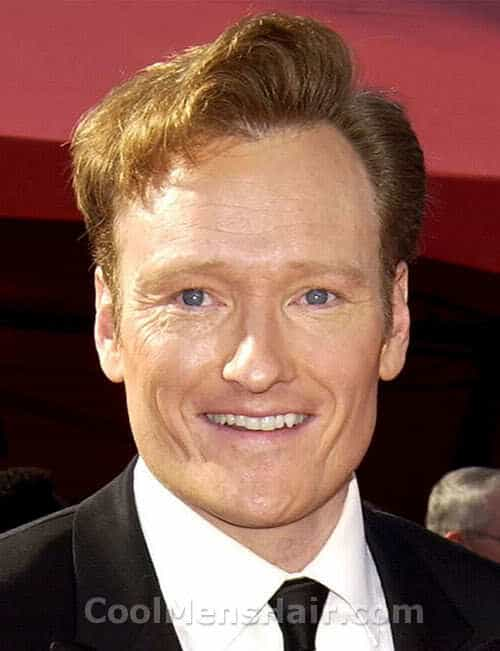 Photo of Conan O'Brien hairstyle.