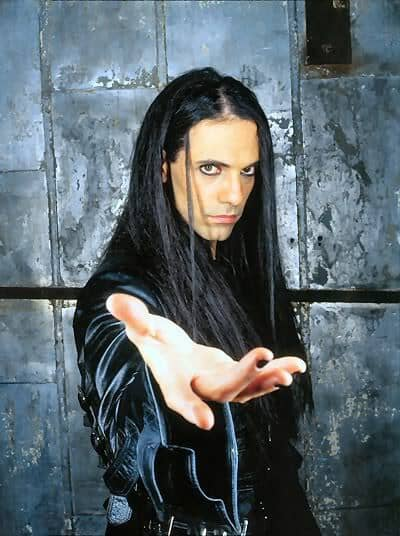 Criss Angel's long haircut.