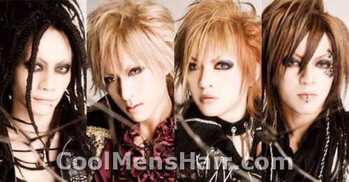 Photo of DELUHI JRock hairstyles.