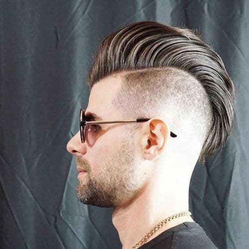Textured & Swept Back with undercut