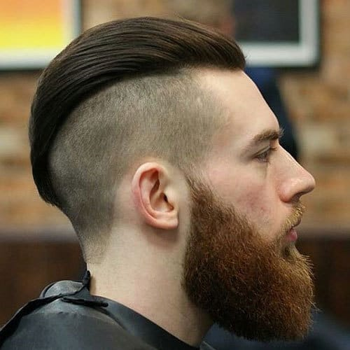 3-Tone Undercut for men