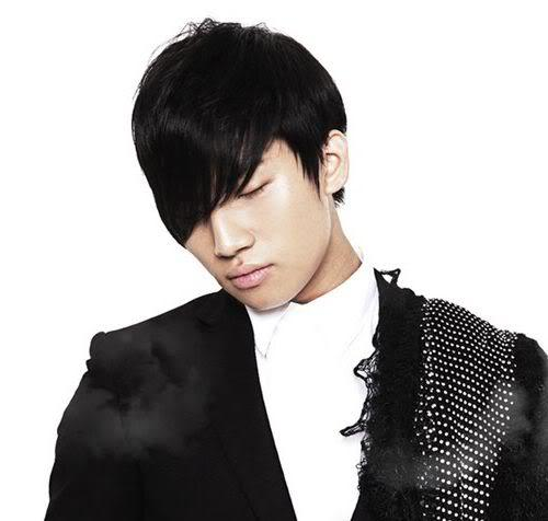 Picture of Kang Daesung hairstyle.