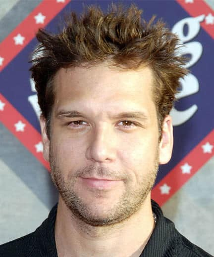 Image of Dane Cook spiky hairstyle.