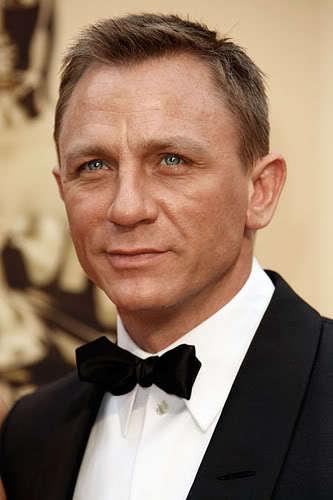 Daniel Craig short hairstyle