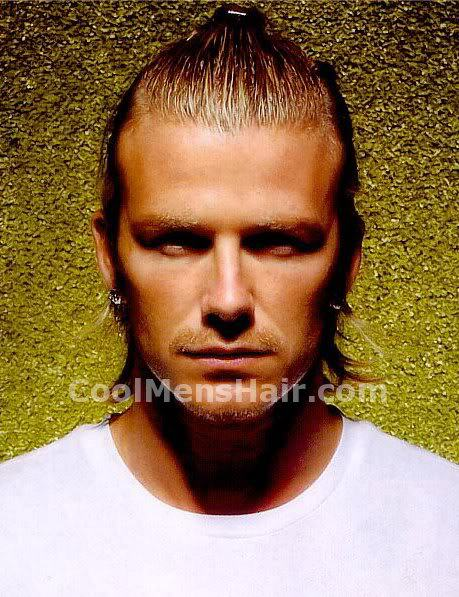 Image of David Beckham hairstyle.