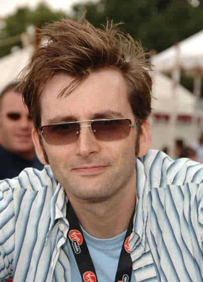 David Tennant haircut