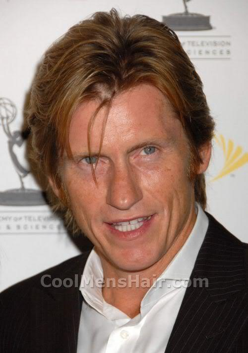 Photo of Denis Leary hairstyle.