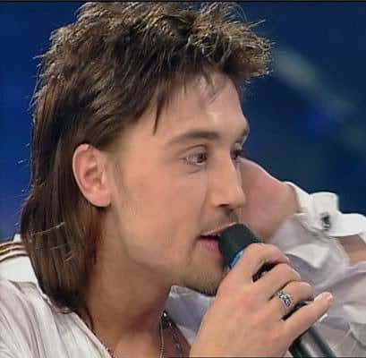Picture of Dima Billan Mullet Haircut