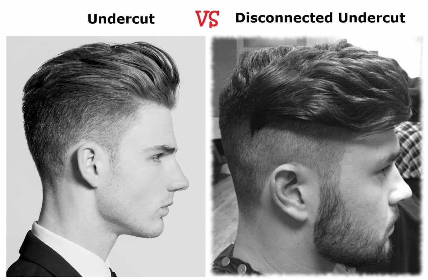 undercut vs disconnected undercut difference
