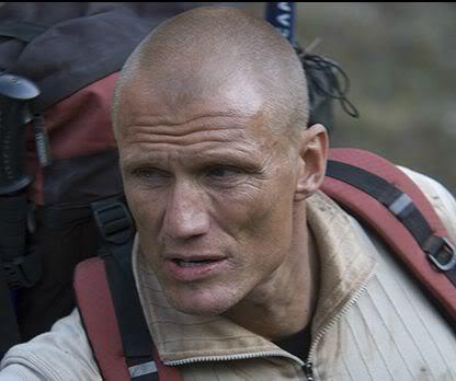 Image of Dolph Lundgren buzzed head.