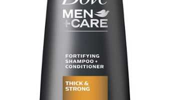 Review of Dove Men+Care 2 in 1 Shampoo and Conditioner, Thick and Strong