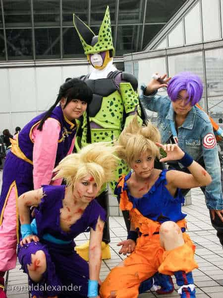 Dragon Ball cosplay picture.