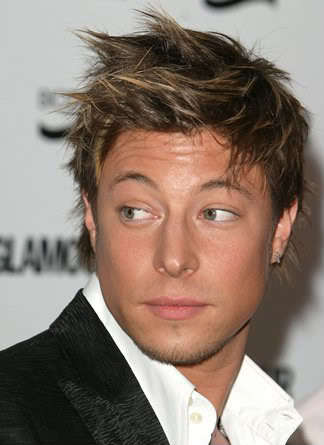 Duncan James's hairstyle