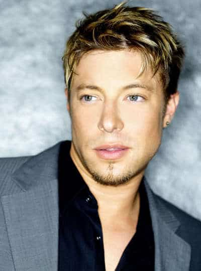 Duncan James's cool hairstyle