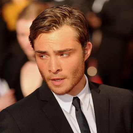 Picture of Ed Westwick hair.