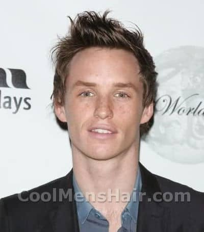 Photo of Eddie Redmayne hairstyle.