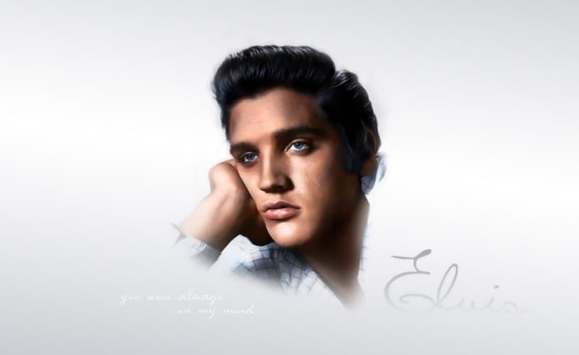 best Elvis Presley's Rockabilly hairstyle