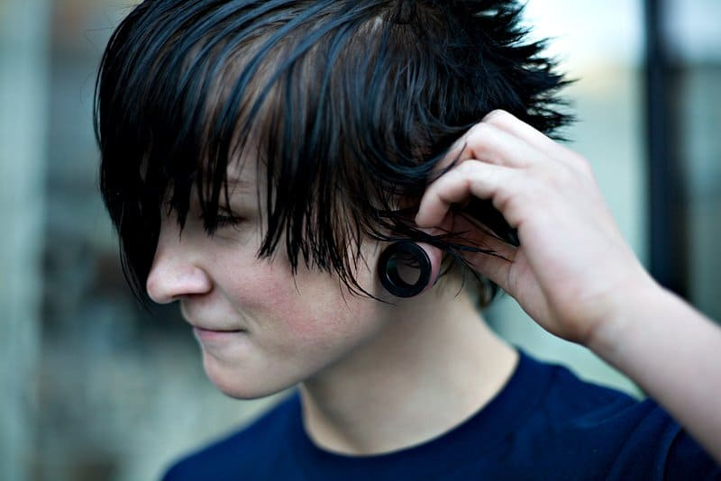 cool Emo Hairstyle for boy