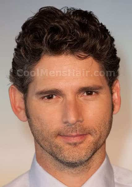 Photo of Eric Bana curly hairstyle.