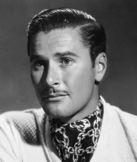 Image of Errol Flynn mustache.
